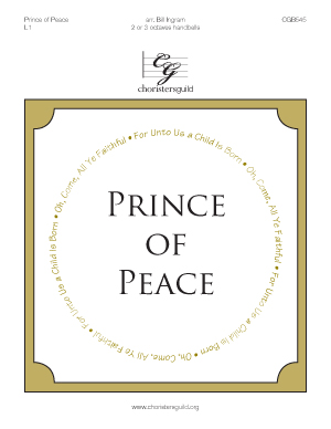 Prince of Peace (2 or 3 octaves)
