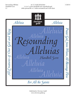 Resounding Alleluias (Handbell Score)