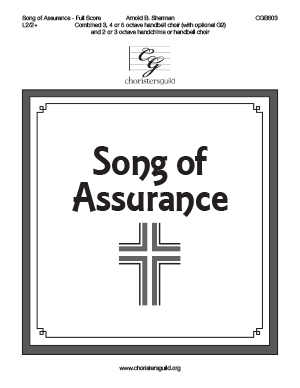 Song of Assurance (Full Score, for ringing the two editions together)