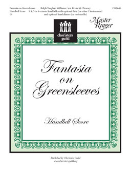Fantasia on Greensleeves - Handbell Score