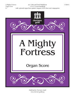 A Mighty Fortress - Organ Score