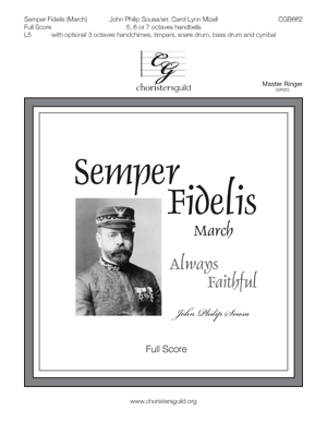 Semper Fidelis (March) - Full Score
