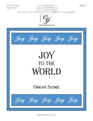 Joy to the World - Organ Score
