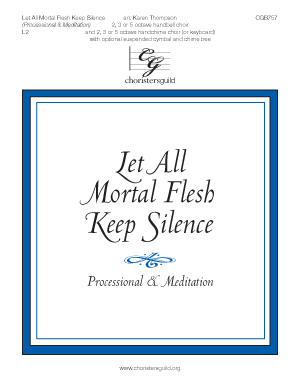 Let All Mortal Flesh Keep Silence (Processional & Meditation)