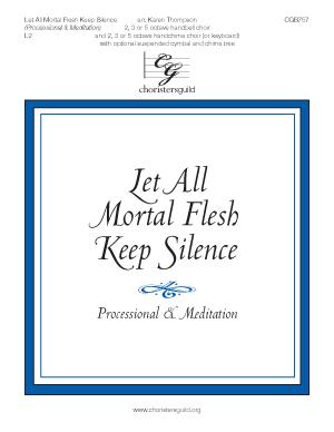 Let All Mortal Flesh Keep Silence (Processional & Meditation)