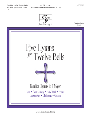 Five Hymns for Twelve Bells (Familiar Hymns in F Major)