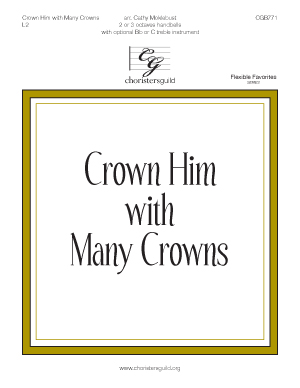 Crown Him with Many Crowns (2 or 3 octaves)