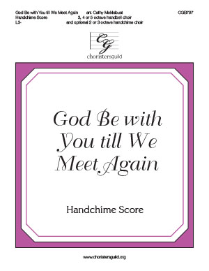 God Be with You till We Meet Again - Handchime Score