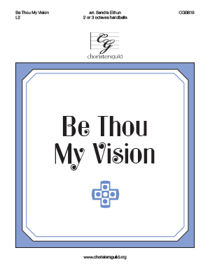 Be Thou My Vision (2 or 3 octaves)