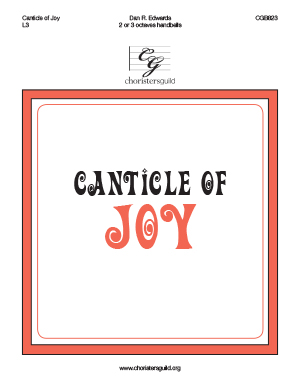 Canticle of Joy (2 or 3 octaves)