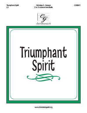 Triumphant Spirit (2 or 3 octaves)