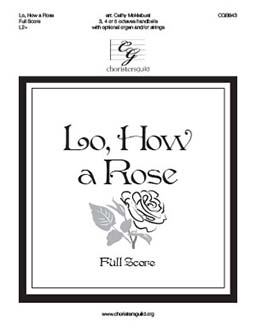 Lo, How a Rose - Full Score