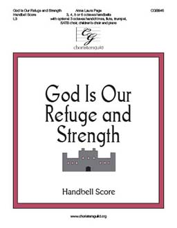 God Is Our Refuge and Strength - Handbell Score