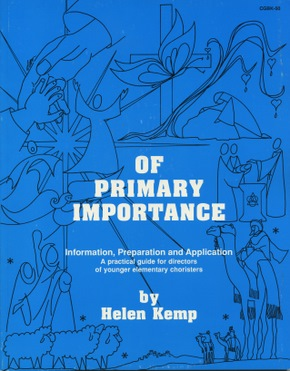 Of Primary Importance, Volume I Book
