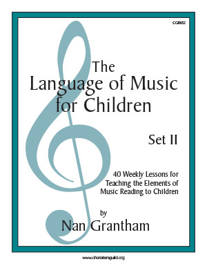 The Language of Music for Children, Set II Book