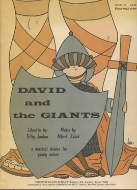 David and the Giants  Orchestration Score