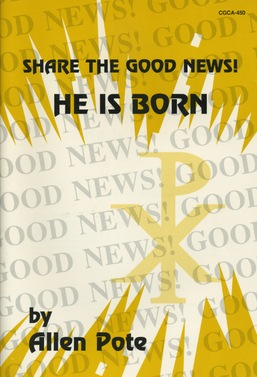 Share the Good News He Is Born