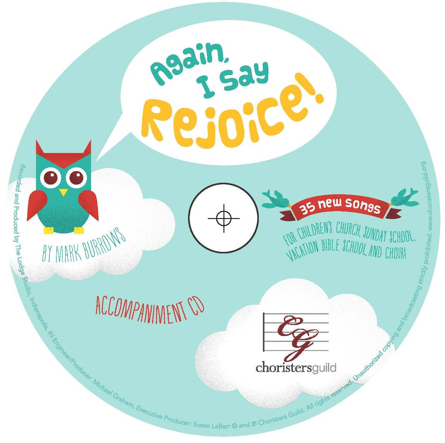 Again, I Say Rejoice! Accompaniment CD