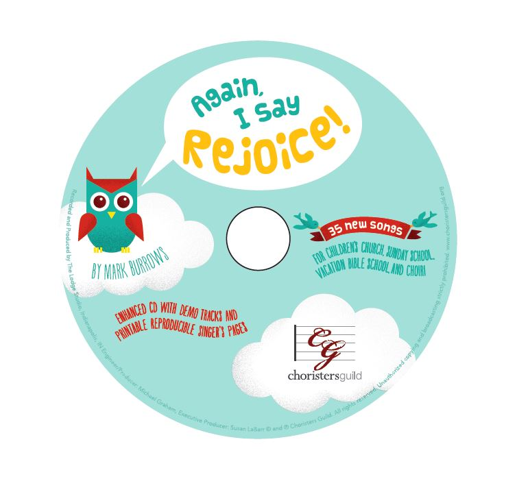 Again, I Say Rejoice! Demo CD