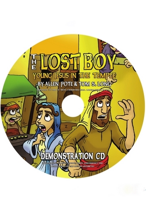 The Lost Boy Demo CD 10 pack
