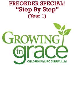 Step by Step (Full Year) Curriculum - Older Children