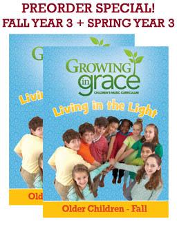 Living in the Light (Full Year) Curriculum - Older Children