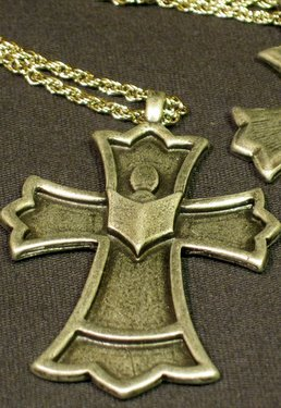 Pewter Choir Cross