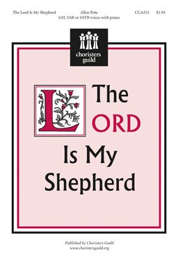 The Lord Is My Shepherd Orchestration