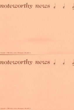 CGPC7 12 Noteworthy News Postcards 12 pack