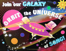 Join Our Galaxy and Orbit the Universe of Song Poster