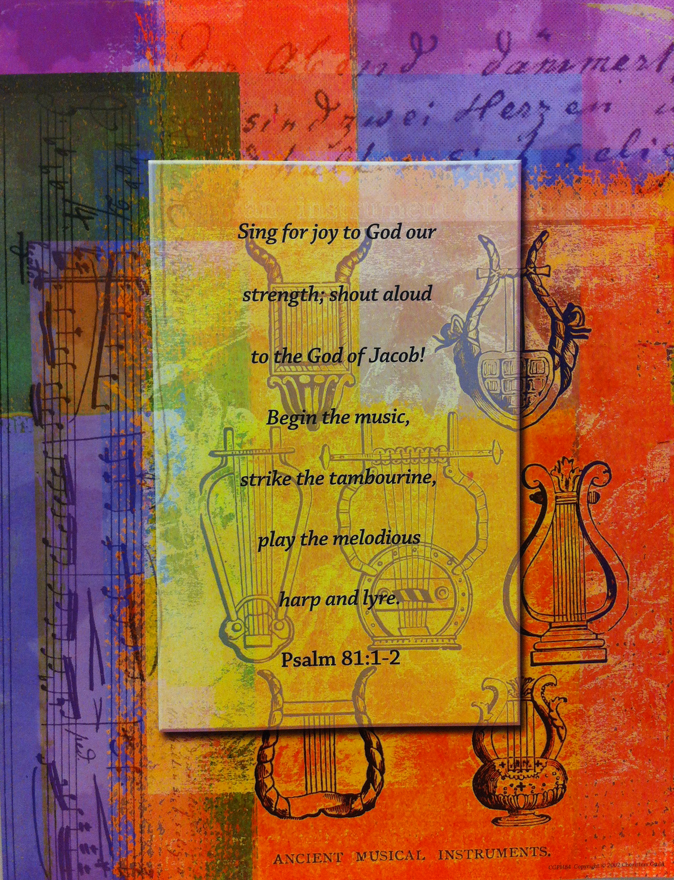 Sing For Joy to God Poster