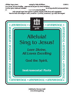 Alleluia Sing to Jesus Love Divine, All Loves Excelling Reproducible Instrumenta