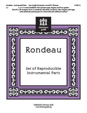 Rondeau (Instrumental Parts)