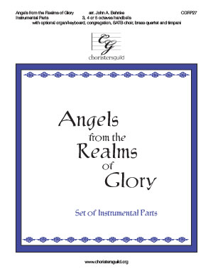 Angels from the Realms of Glory - Set of Instrumental parts