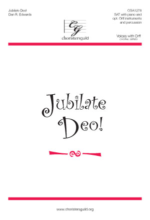 Jubilate Deo! Reproducible Parts