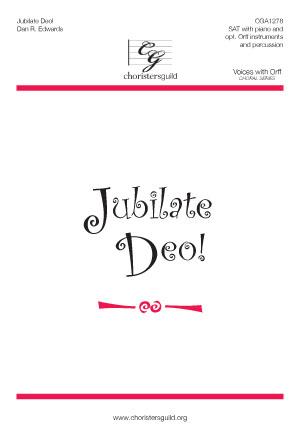 Jubilate Deo! (Reproducible Parts)