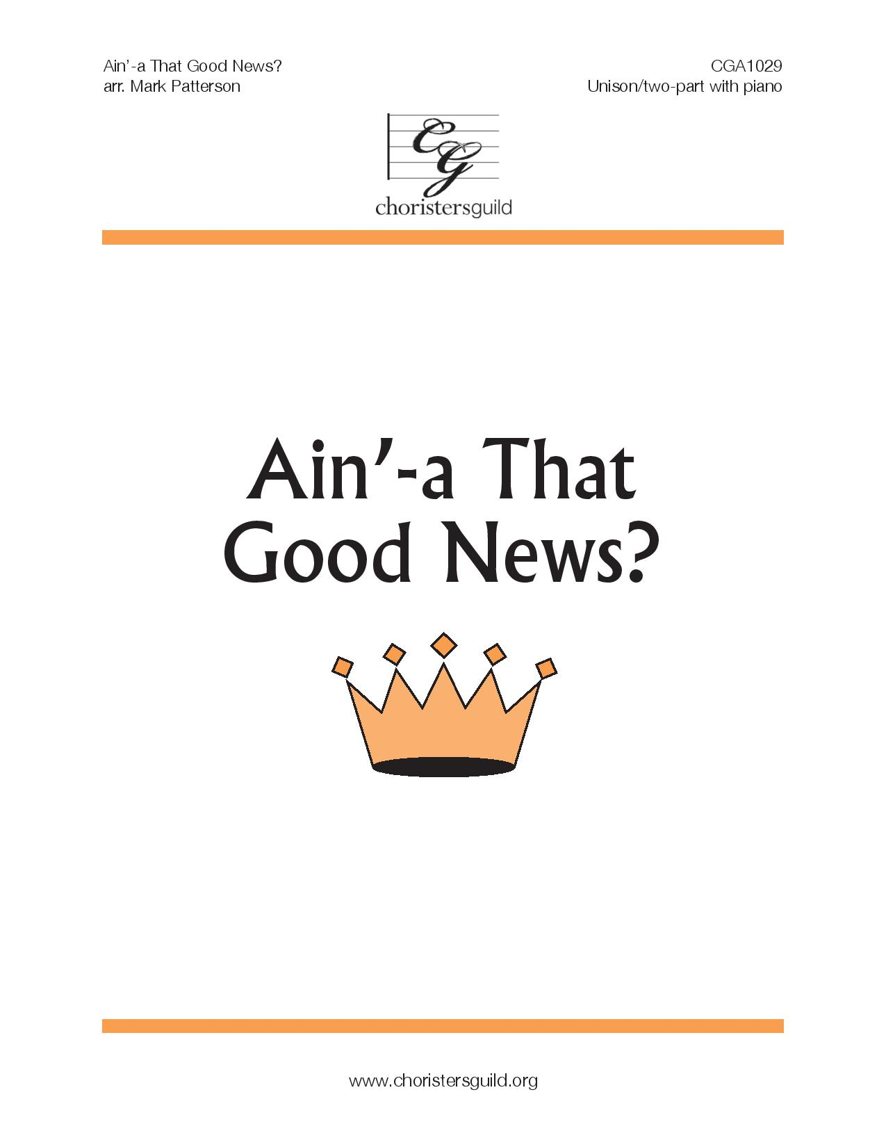 Ain'-a That Good News? (Audio Download)