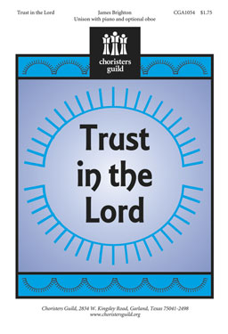 Trust in the Lord (Audio Download)