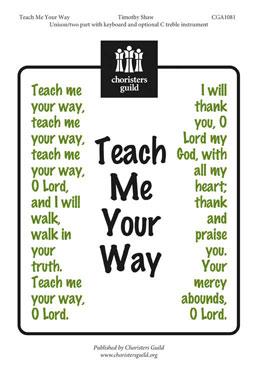 Teach Me Your Way (Audio Download)