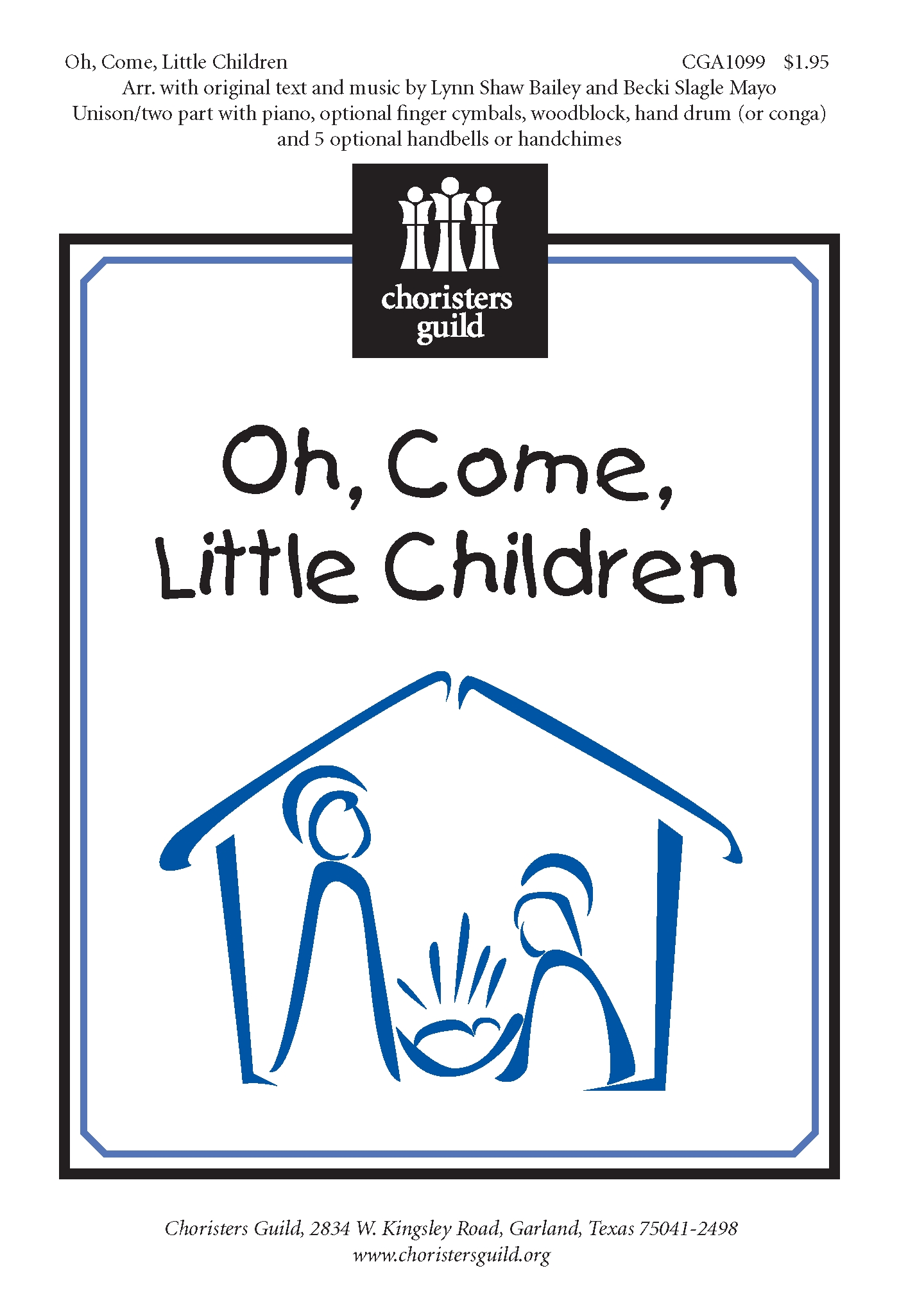 Oh, Come, Little Children - Audio Download
