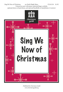 Sing We Now of Christmas - Audio Download