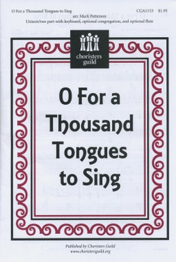 O For A Thousand Tongues to Sing - Audio Download
