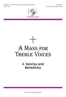 Mass for Treble Voices - Sanctus and Benedictus - Audio Download