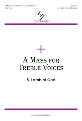 Mass for Treble Voices - Lamb of God - Audio Download