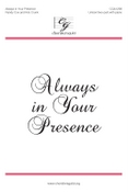 Always in Your Presence Audio Download