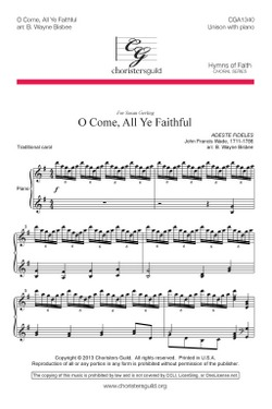 O Come, All Ye Faithful Audio Download