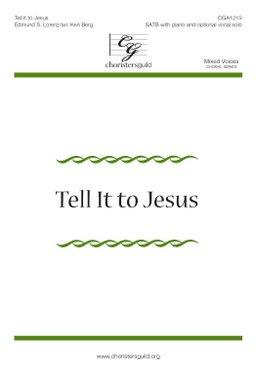 Tell It to Jesus Accompaniment Track