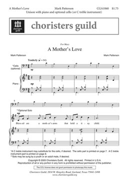 A Mother's Love (Audio Download)