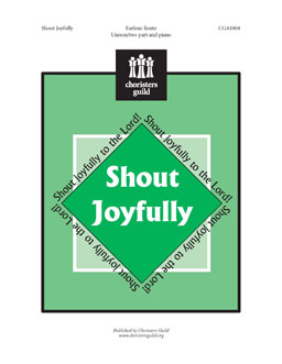 Shout Joyfully (Unison/two part)