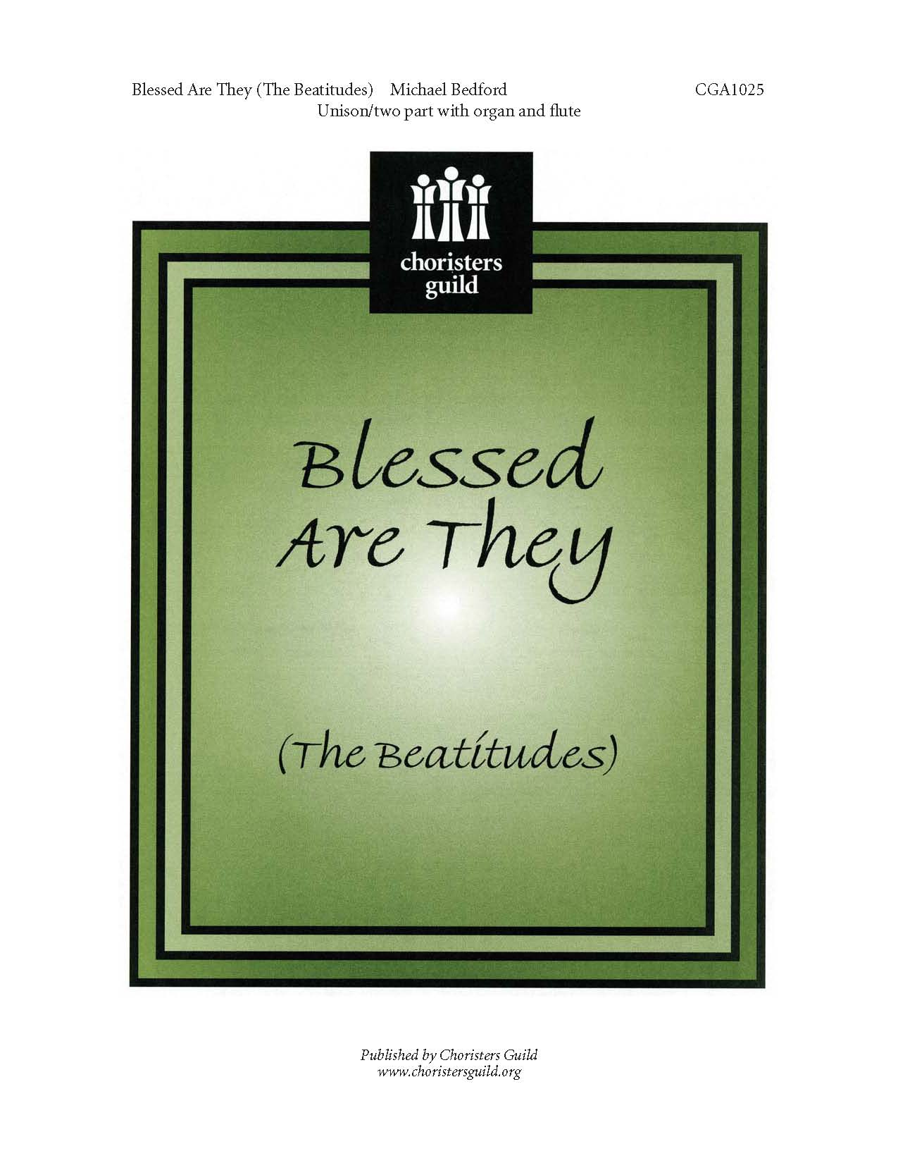 Blessed Are They The Beatitudes